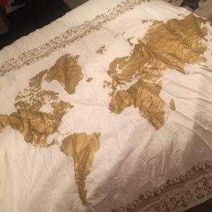 WorldMap Tapestry